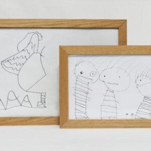 Jamu Bilderrahmen - Ordnung für Kinderzeichnungen