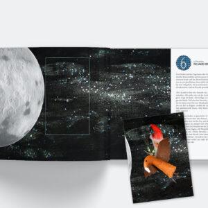 Adventskalenderbuch der kleine Stern - Inhalt Abenteuer im Weltall