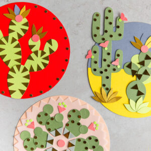 Inhalt Mylani Bastelbox Kaktus und Klima