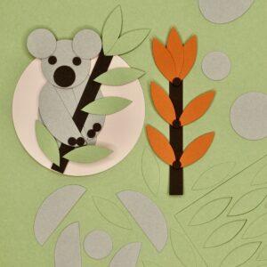 Mylani Mini-Bastelset Koala Bastelergebnis