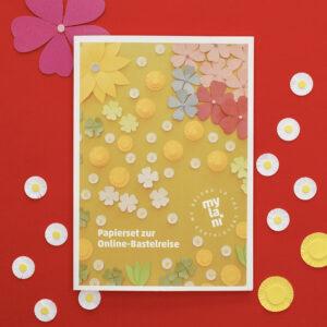 Mylani Papierset Blumenwiese