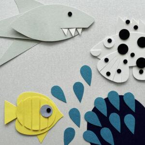 Mylani Papierset Great Barrier Reef - Ergebnis