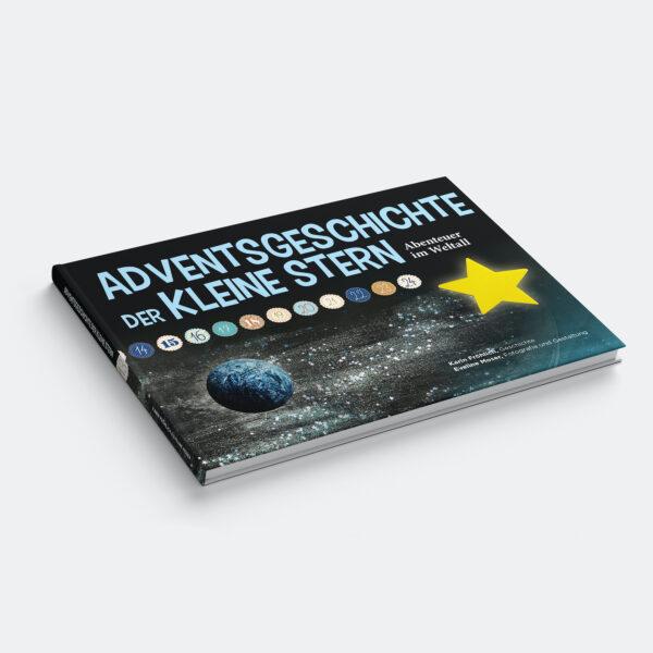 Adventskalenderbuch der kleine Stern - Weltall